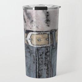 Blue jeans Travel Mug