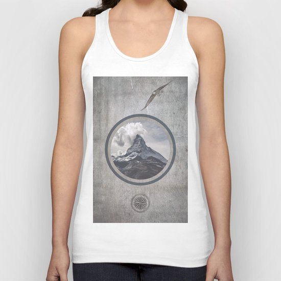 Where eagles fly Unisex Tank Top