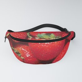 Garden Strawberries Fanny Pack