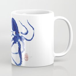 Blue octopus Coffee Mug