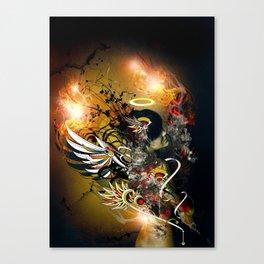 Satan Canvas Print