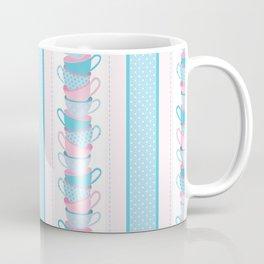 Tea Party Neck Gaiter Tea Cups Neck Gator Coffee Mug
