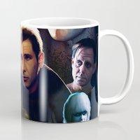 blade runner Mugs featuring Blade Runner by Saint Genesis