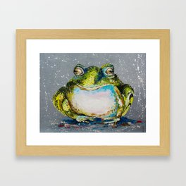 The Toad Framed Art Print