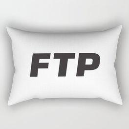 FUCKTHEPOPULATION Rectangular Pillow