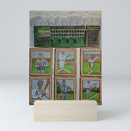Kansas City Baseball Since 1884 Mini Art Print