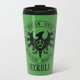 Agents of H.Y.R.U.L.E. | Black print variant Travel Mug
