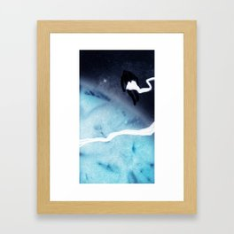 FLOATING - Heavy Metal Thunder Artwork Framed Art Print