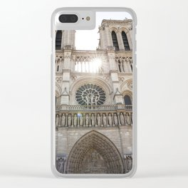 Notre-Dame ... Our Lady of Paris Clear iPhone Case