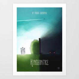 Dogtooth (Kynodontas) poster Art Print