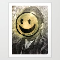 VG SMILIE Art Print