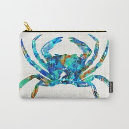 Blue Crab Art by Sharon Cummings Carry-All Pouch
