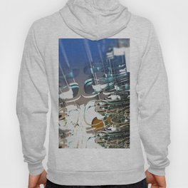 Clock Temple of technology Hoody