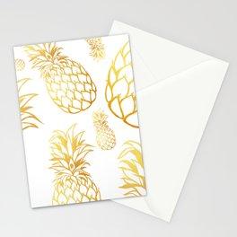 tropical rain Stationery Cards