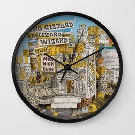 King Gizzard & The Lizard Wizard & Mild High Club - Sketches Of Brunswick East Wall Clock
