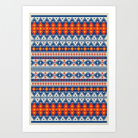 Navajo Three Art Print