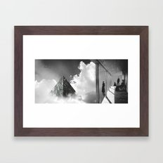 Sighting Framed Art Print