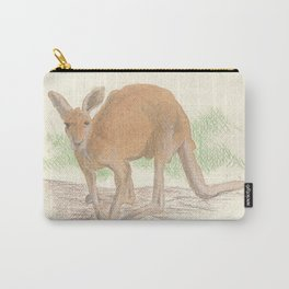 Kangaroo. Carry-All Pouch