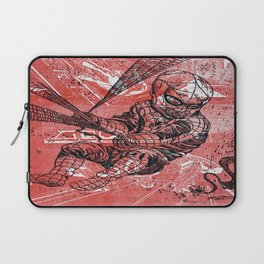 Spins a web any size Laptop Sleeve