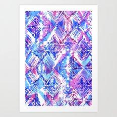 ikat #5c Art Print