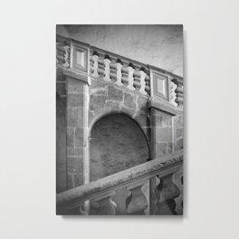 Narbonne stairway Metal Print