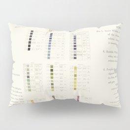 Werner's nomenclature of colour Pillow Sham