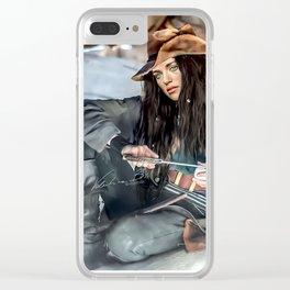 Captain Lena Luthor color version Clear iPhone Case