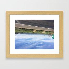 Beatiful Sky Veracruz Framed Art Print