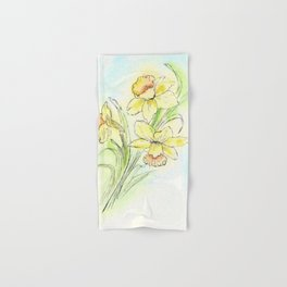 Yearning for Spring Hand & Bath Towel