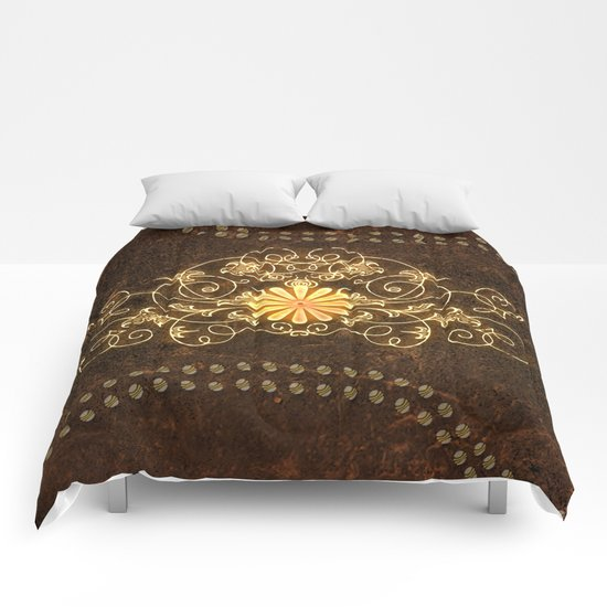 Floral power Comforters