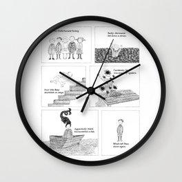 An Unfortunate Outing - Frames Wall Clock