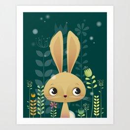 Bunny! Art Print