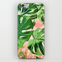 Monstera Beauty #society6 #decor #buyart iPhone Skin