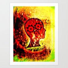 heads high. Art Print