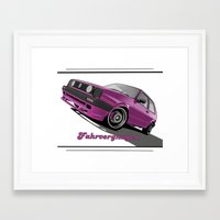 vw Framed Art Prints featuring VW  by Valerie Agrusa Photography