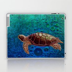 Turtle Patience Laptop & iPad Skin