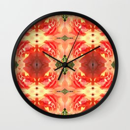 Rose Quad 195 Wall Clock
