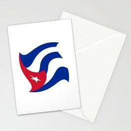 Flag of Cuba 3 -cuban,havana, guevara,che,castro,tropical,central america,spanish,latine Stationery Cards
