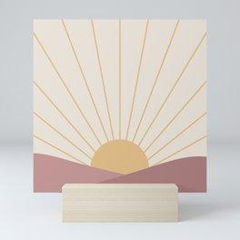 Morning Light - Pink Mini Art Print