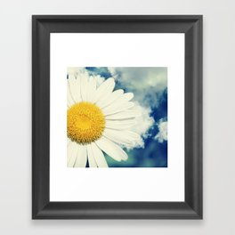 With the clouds! Framed Art Print