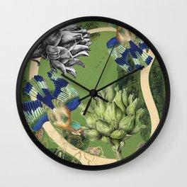 Garden III Wall Clock