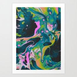 LEECHES & THIEVES Art Print