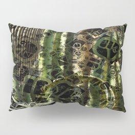 Cactus Garden Letters 4 Pillow Sham