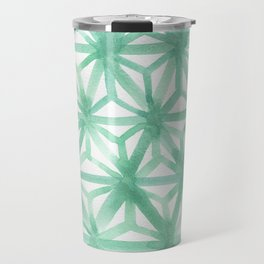 Mint Asanoha Travel Mug