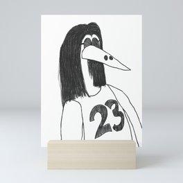 The (Immortal) Bird Mini Art Print