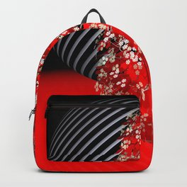 red dreamscape Backpack