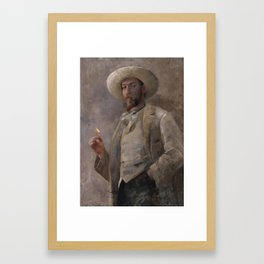 Gaines Ruger Donoho by John Lavery, 1883 Framed Art Print