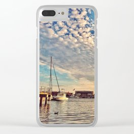 Showtime Clear iPhone Case