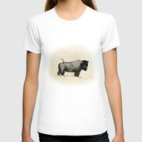 bison T-shirts featuring Bison by Eric Tiedt