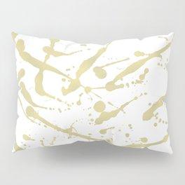 Gold drops Pillow Sham